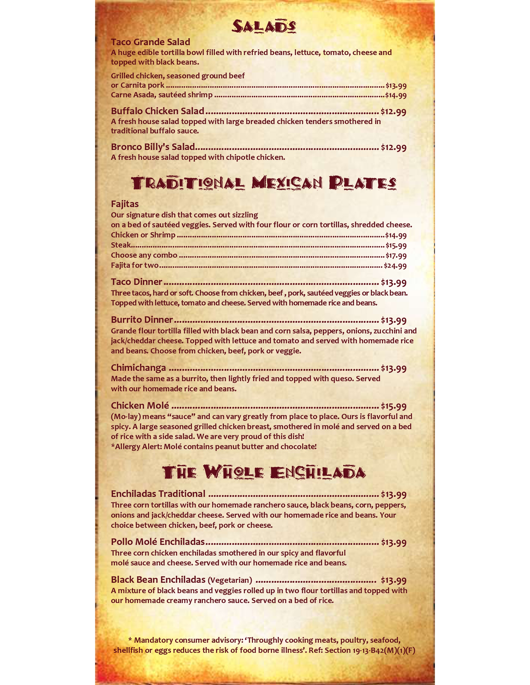 traditional Mexican Plates
